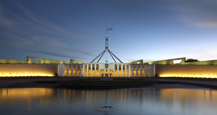 Federal Parliament Building Canberra