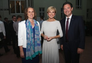 Julie Bishop, Foreign Minister of Australia, attends a reception at the Australian Embassy. Berlin, 06.09.2016. Copyright: Adam Berry/photothek.net