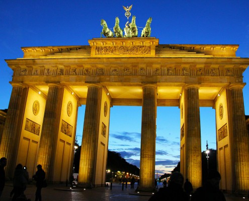 Brandenburger Tor at Night