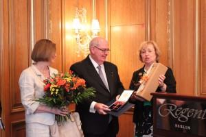 Ambassador receiving Merit Order