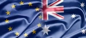 EU Australia Flag